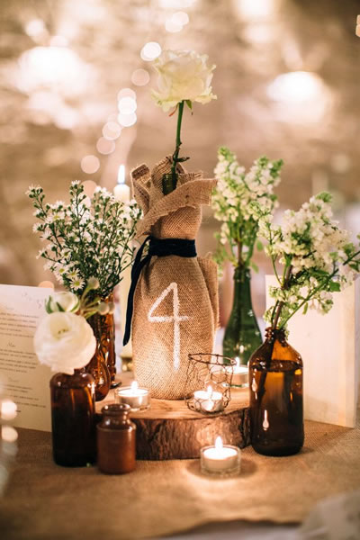 Decoracion Bodas Rusticas ~ Decoraci?n para bodas r?sticas, 20 ideas geniales!  Blog