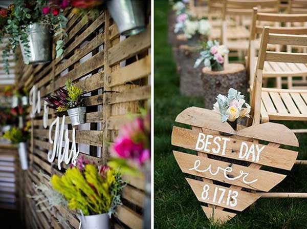 50 ideas increiblesde decoración de boda vintage