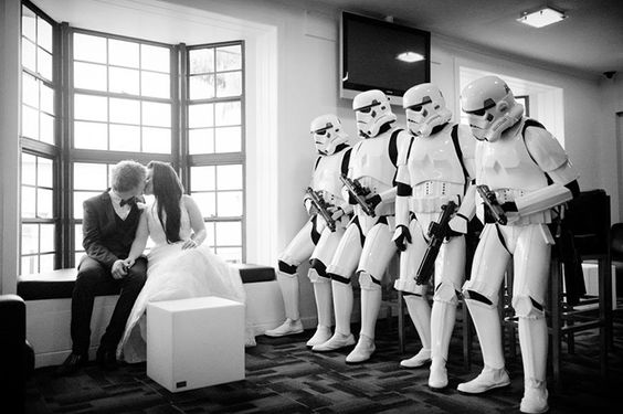 Boda friki Star Wars